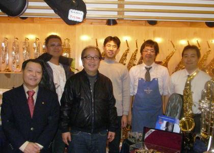 杉山正先生のフレックスタングビルドプライベートレッスン|三響楽器
