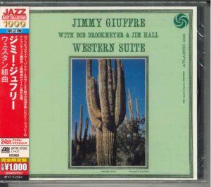 JAZZ CD「ウェスタン組曲/ジミー・ジュフリー」