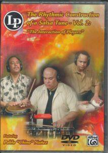 打楽器DVD リズミック・コンストラクション・オブ・サルサ・チューン2/パブロ・ヌーニェス