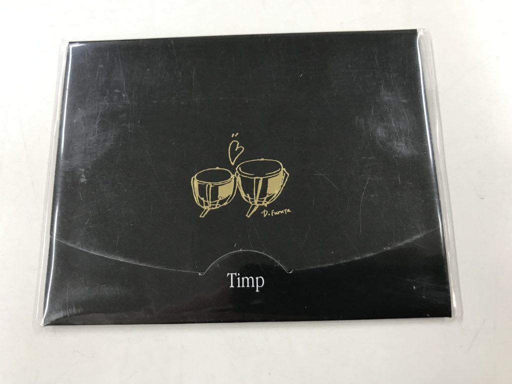 高級あぶらとり紙〈楽譜スカシ柄入り〉ティンパニ