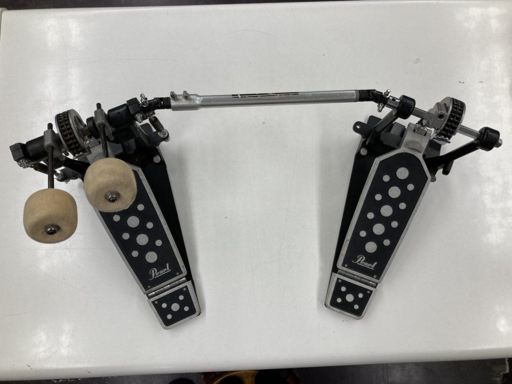 打楽器 左利き用ツインペダル セット(中古)